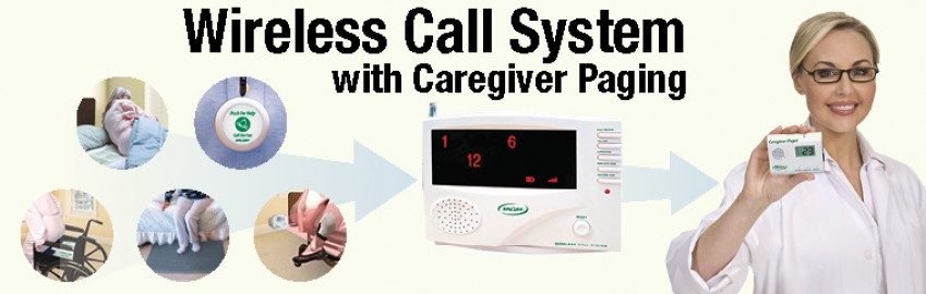 Wireless Nurse Call System  with Caregiver Paging