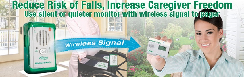 Fall Monitor with Wireless signal to Pager – TL-2016