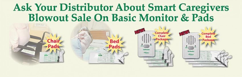Smart Caregiver Basic Monitor & Sensor Pads Blowout Sale