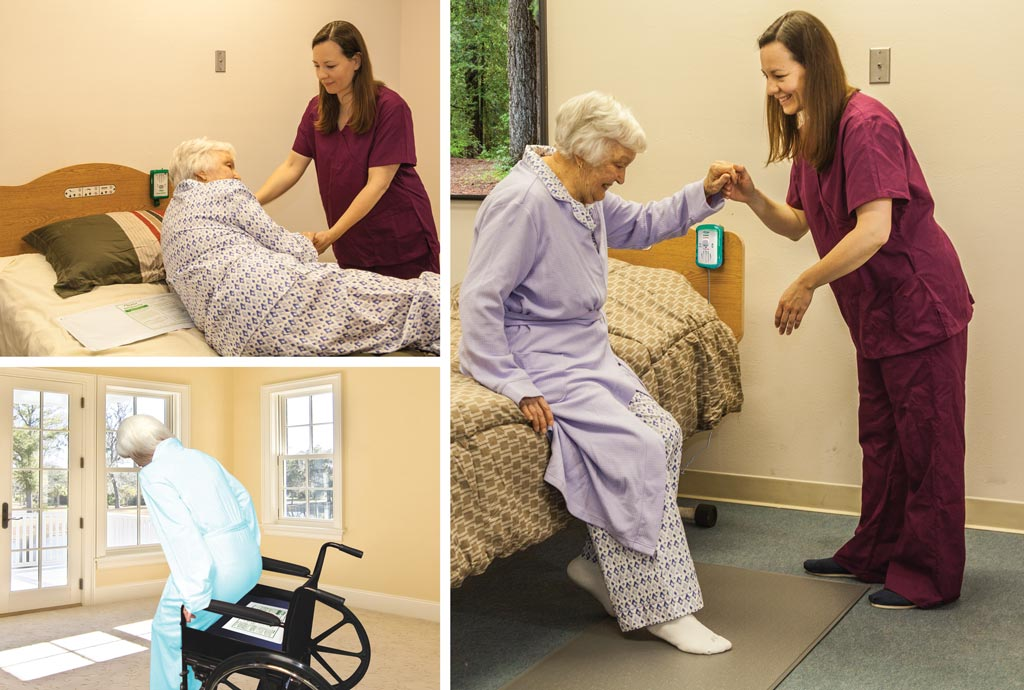 Smart Caregiver pressure Sending Pads that works with all Fall Prevention Monitors